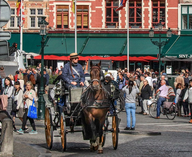 Markt Square carriage ride.