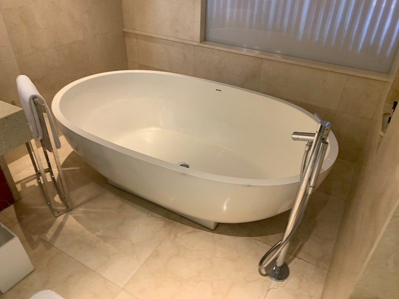 The bath tub