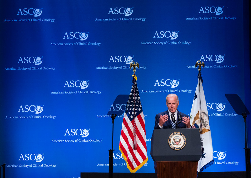 Vice President Joe Biden speaks during a special session