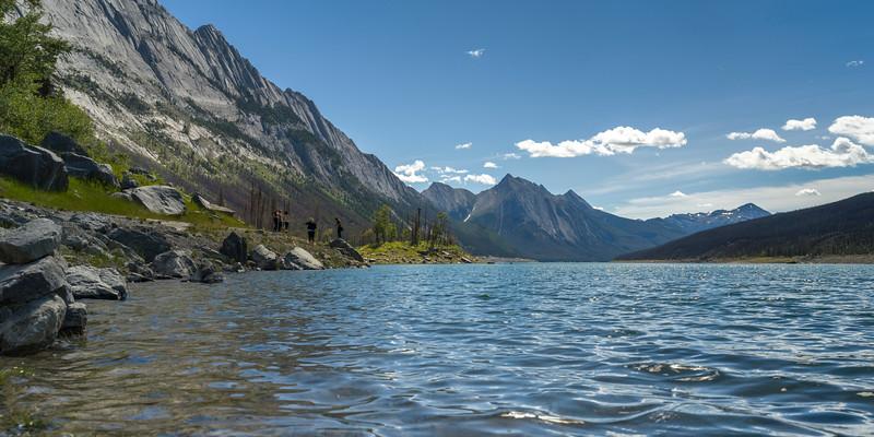 Medicine Lake, Yellowhead Highway, Jasper National Park, Jasper, Alberta, Canada