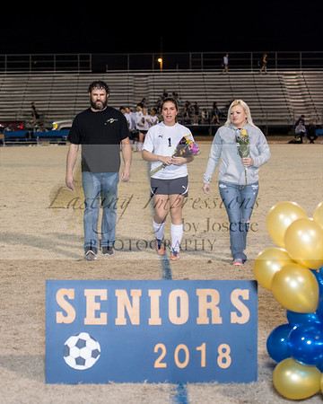 Carencro Soccer Senior Night 2018
