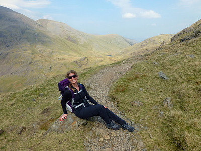 Scafell Pike April 2014