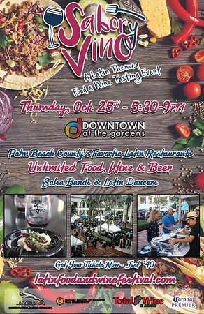 Sabor Y Vino - A Latin Themed Tasting Event in PBG