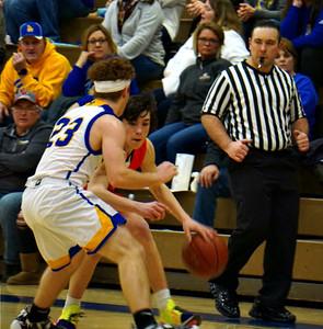 Dodgeville @ Lancaster Boys Basketball 2-27-20