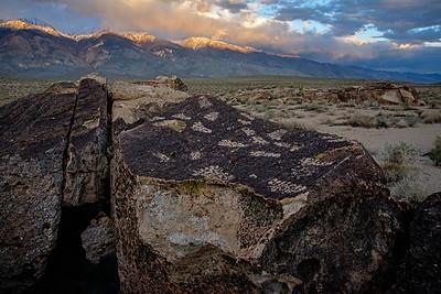 Bishop CA Petroglyphs
