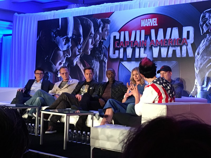PART 1: #TeamIronMan on moving Marvel forward with CAPTAIN AMERICA: CIVIL WAR