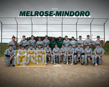 Melrose-Mindoro baseball BB19