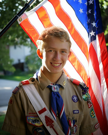 Eagle Scout Rudy Reynolds