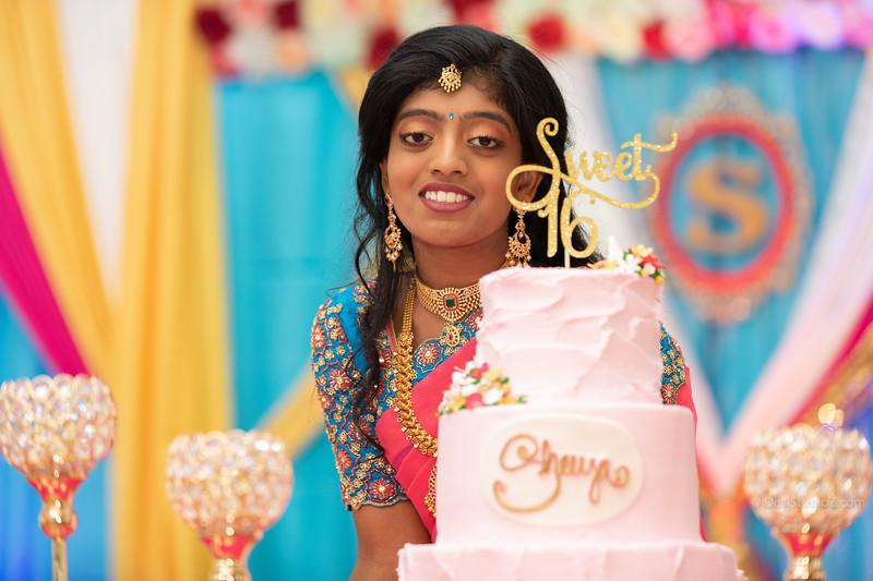 Shreya's Sweet 16
