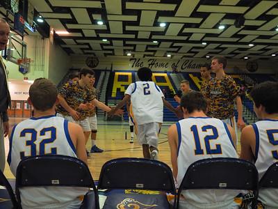 Boys JV Basketball v. Herndon