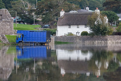 River Ogmore High Tide - 9 and 10 September 2014