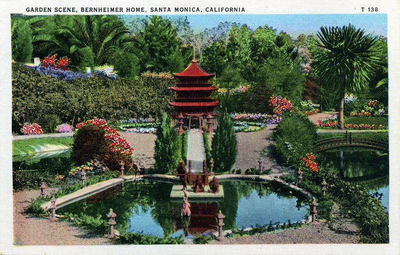 Bernheimer Garden Scene
