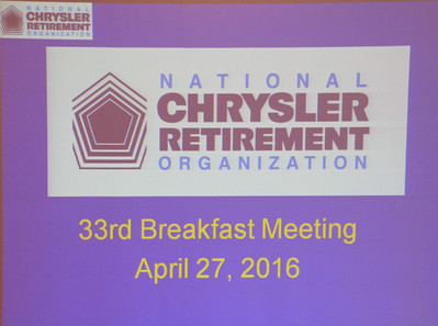 33rd Breakfast Meeting April 27, 2016
