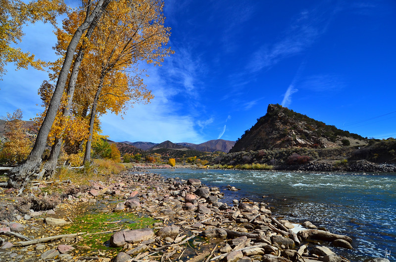 Outside of Glenwood Springs, Colorado