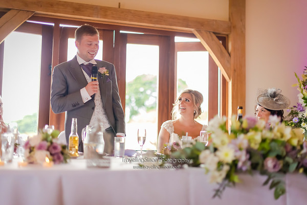 Philippa and Leigh Armstong - Wedding Breakfast