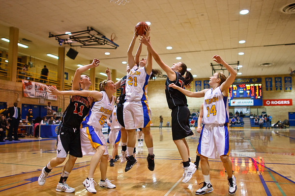Ryerson Rams Womens Basketball