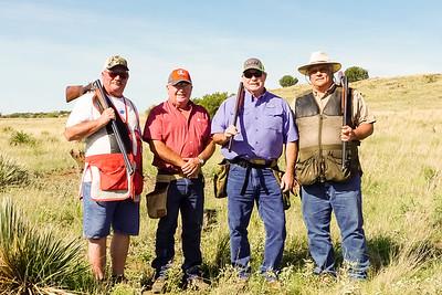 2018-21-07 SR EXES SKEET SHOOT-BACH, GEORGE, LR, & TERRY
