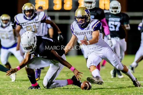 Broughton Varsity football at Southeast Raleigh. October 4, 2019. D4S_5339