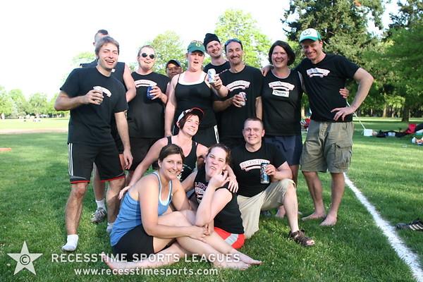 Spring Kickball 2008 - Team Photos & Action Shots