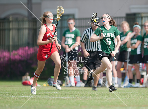 2011-03-26 Lacrosse Varsity Girls St. Stephens & St. Agnes School @ St. John's School