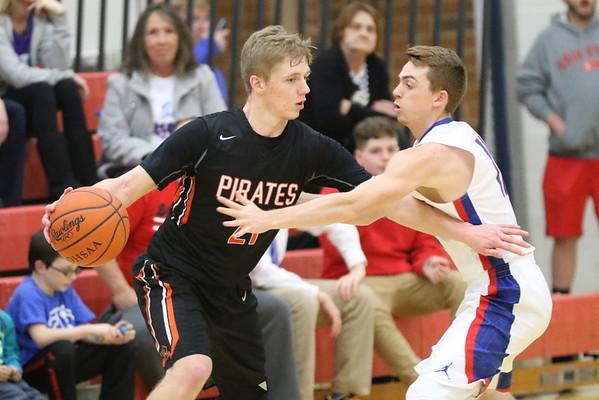 16 Boys Basketball Pictures:  Wheelersburg at Northwest 2017