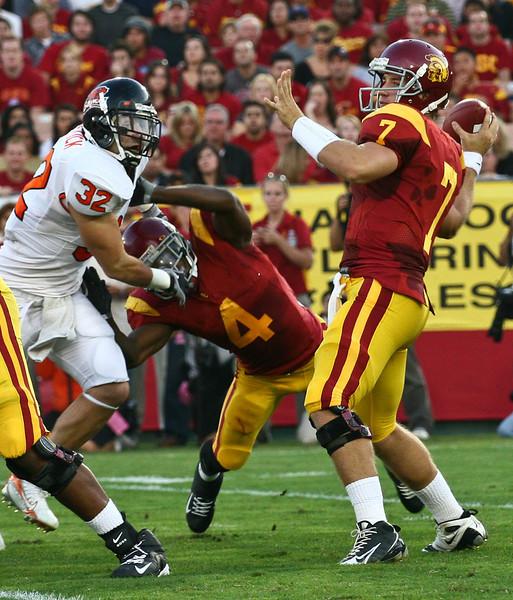 USC vs OSU Football 09