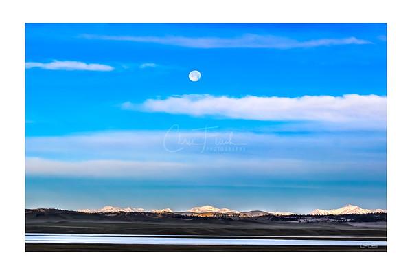 Spinney Mountain Moon, Colorado