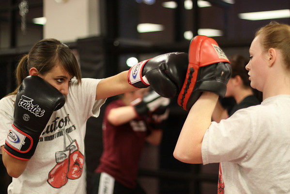 Kickboxing Workshop and Testing with Subber Steve Snyder 11.04.10