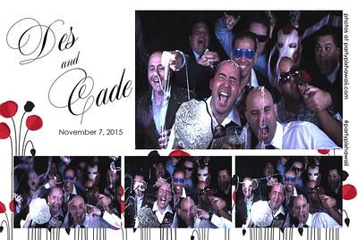 Cade & Desiree's Wedding (Slow Motion Photo Booth)