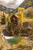 Historic Crystal Mill. Elk Range, CO