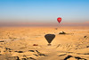 Hot air ballooning over the Temple of Queen Hatshepsut