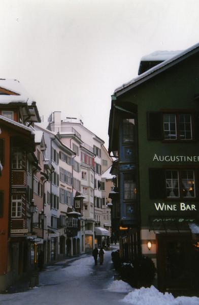 Augustinerstrasse in Zurich, Switzerland