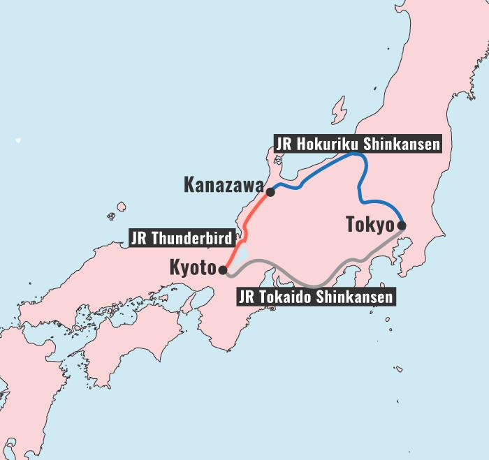 Japan Itinerary: Tokyo, Kyoto and Kanazawa