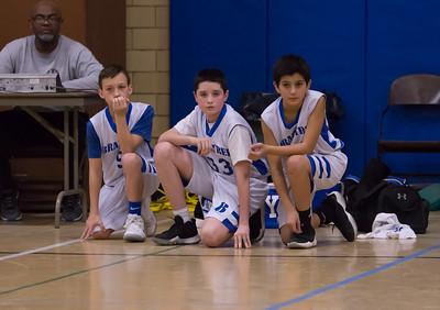 2/17/18 6A Boys Basketball:  Braintree vs Plymouth