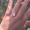 2.13ct Antique Pear Shape Diamond, GIA I, VS2 36