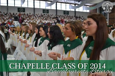 Class of 2014 Baccalaureate Liturgy
