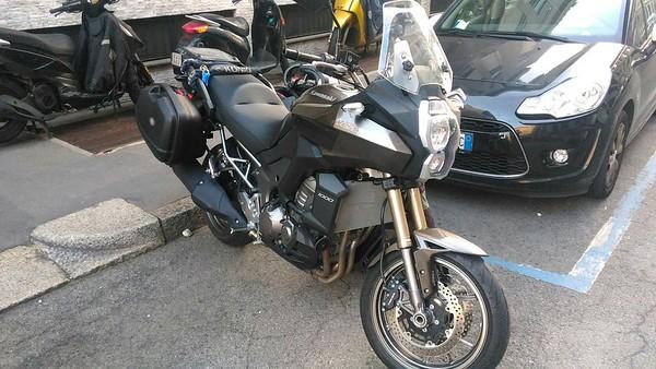 Il giorno del ritiro: Kawasaki Versys 1000