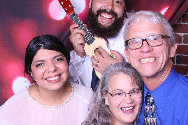Cristina & Ricky Photo Booth, Oct. 6,