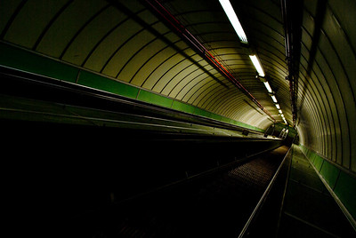 27.12.2011 Pedestrian Tyne Tunnel
