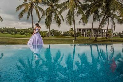 Sesion de quinceaños de Cindy @ Punta Cana