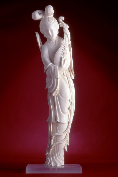 Ivory carving form the Presidential Collection at the LBJ Museum.