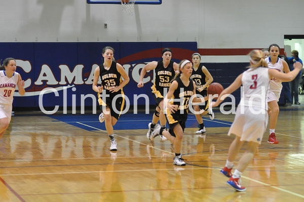 Camanche girls basketball vs. Mid-Prairie (12-22-14)