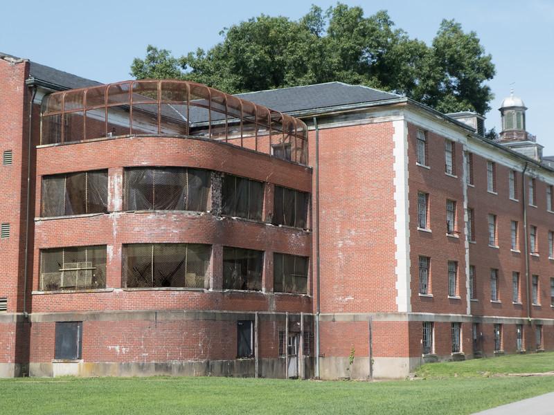Trans-Allegheny Lunatic Asylum. Weston, WV
