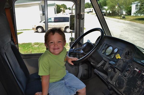 2012-07 Jr in FedEx Truck