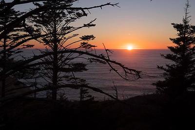 Sundown  from Cape Kiwanda