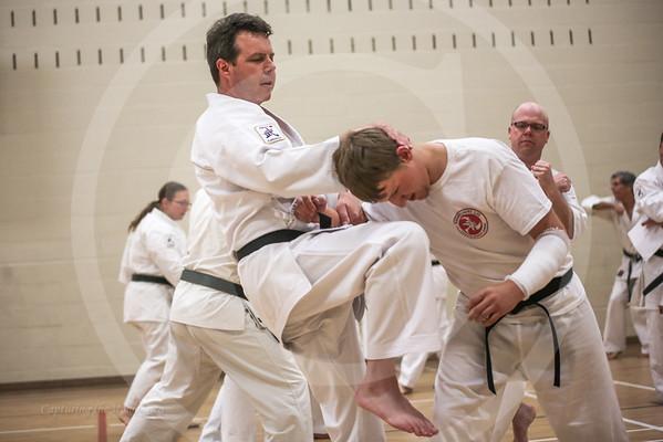 Karate, featuring Kirkland Lake's Bushi Martial Arts Academy.