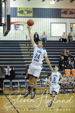 Boys Basketball - JV: Stone Bridge vs Millbrook 12.22.2014 (by Steven Holland)