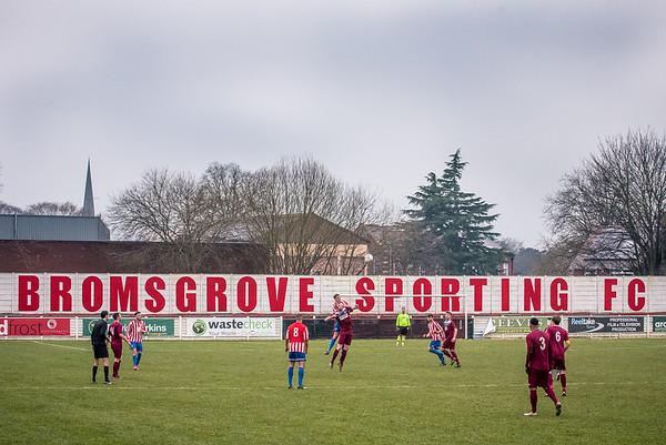Bromsgrove Sporting v Nuneaton Griff