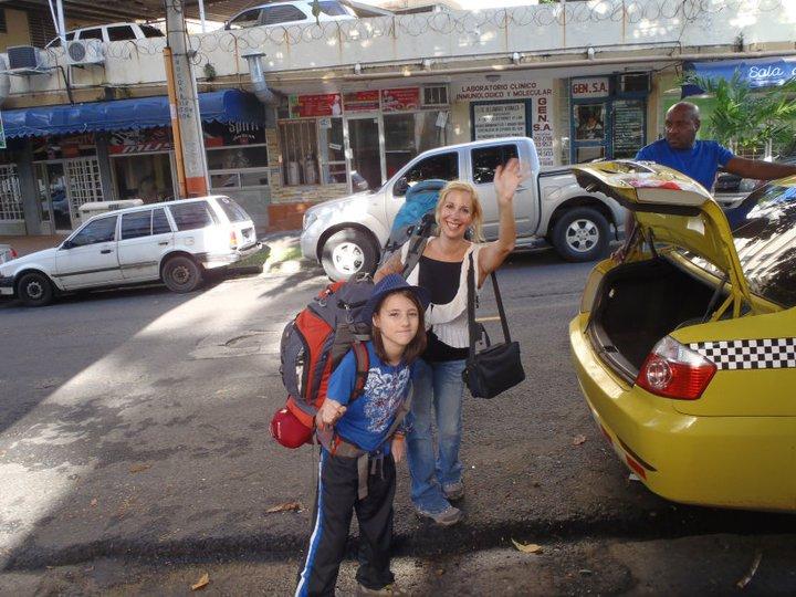 career break travel adventures in Panama, Raising Miro