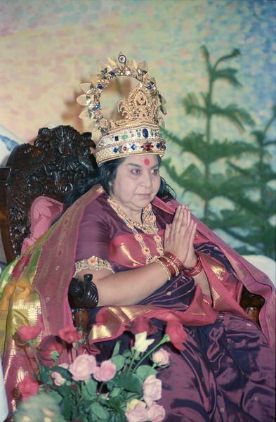 Sahasrara Puja, 3 May 1987, Thredbo Australia (Matthew Fogarty photo)